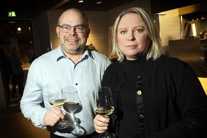 Lars och Jessica Hägglund tyckte att det var ett spännande koncept.