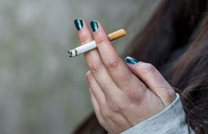 Det blir att färre platser som en får röka på.