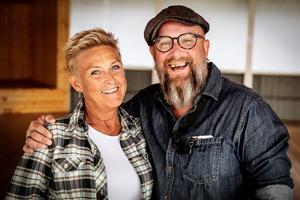 Marie Sköld och P-A Sköld är dansinstruktörer i gammeldans på Dansbandsveckan.
