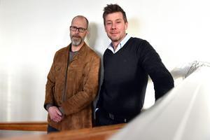 Michael Rocking och Christer Persson arbetar febrilt för att få till en friskola i Mora.
