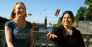 Spelet om Sundsvall är en del av årets kampanj som ska få utflyttade Sundsvallsbor att flytta hem. Men varken Elin Frid eller Jenny Gustafsson lockas tillbaka av spelet.
