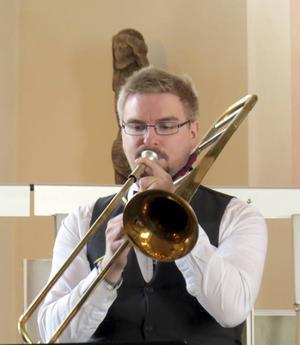 Emil Kans var solist på trombon.