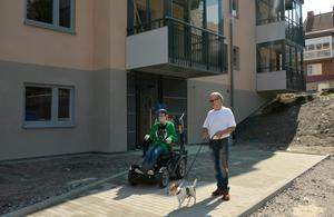 Andreaz och hans pappa Lars
