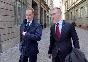 I fjol registrerade de uteslutna SDU-ledarna Gustav Kasselstrand och William Hahne det nya partiet Alternativ för Sverige. I mars i år drog verksamheten igång på allvar. Sedan dess har fyra uteslutna riksdagsledamöter från SD anslutit sig - bland andra Anna Hagwall från Rättvik. lFoto: Anders Wiklund  / TT.
