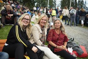 Hanna Sundin, Laila Eriksson och Elenore Johnsson från Sollefteå.