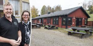 Per Lundström och Heléne Ångman arrenderar Sidsjöstugan av Sundsvalls kommun.
