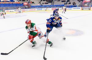 Robin Johansson och Mora jagar nu tre poäng mot Karlskrona på torsdag. Foto: Jonas Ljungdahl