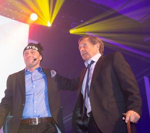 Janne Olsson fick Årets hederspris på Hylla-galan 2018.