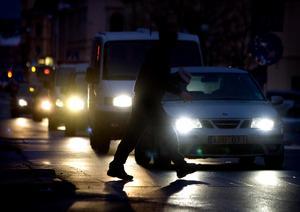 Skribenten uppmanar till försiktighet i trafiken – och att använda reflex. Bild: Mårten Englin/Arkiv