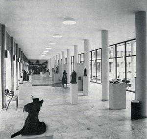 VFK:s utställningslokal i Stadshuset.