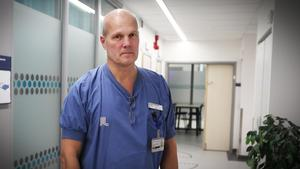 Michael Gårdebäck, chefläkare på Södertälje sjukhus.