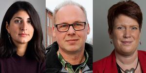 """""""Vi Socialdemokrater kommer alltid stå upp för arbetarnas rättigheter och en bra arbetsmiljö på jobbet"""", skriver Roza Güclü Hedin (S),Patrik Engström (S) och Maria Strömkvist (S), riksdagsledamöter från Dalarna.Foto: TT/DT arkiv/montage"""