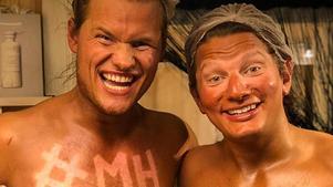 Julius Aspman och Björn Daniels. Privat bild.