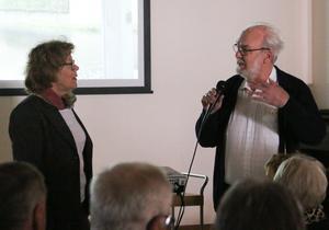 Filmmakaren Alf Fransson introducerades kort av Lisbeth Axelsson innan filmen rullade i gång.