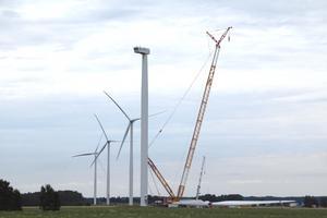 När det var blåsdag producerade Kumbros vindkraftverk el som motsvarar årsförbrukningen för 300 villor.