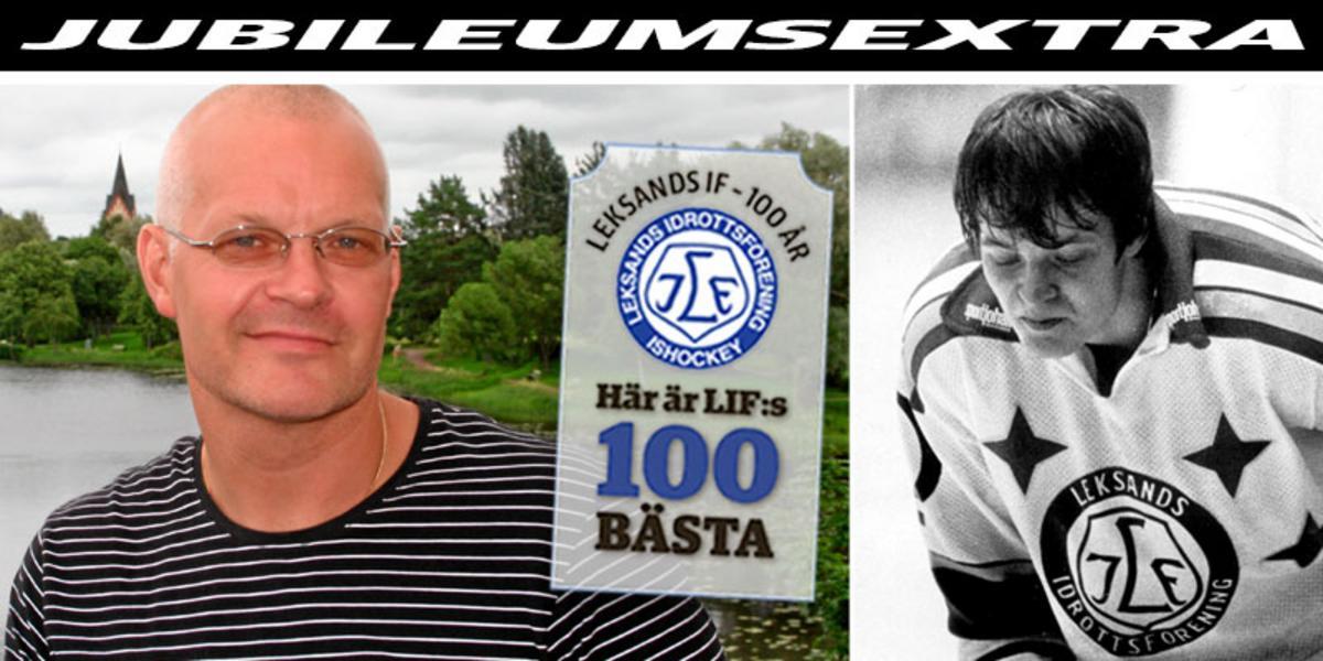 LIF:s 100 BÄSTA: Nummer 70 – fotbollstalangen som valde ishockeyn tack vare Leksand: