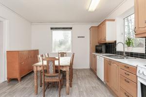 Köket. Foto: Länsförsäkringar fastighetsförmedling.