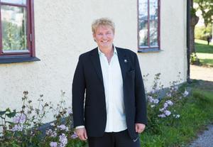 Realistpartiets Joakim Granberg.