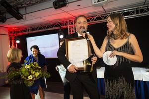 Pausdrycker i Sollefteå AB med Nicklas Ledin i spetsen tog hem Årets företagare.