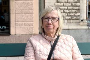 Maria Hammarberg, 71 år, pensionär, Sundsvall: