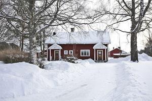 Denna femrumsvilla i Nås, Vansbro kommun, lockade 5 464 klick på Hemnet under vecka 8. Foto: Therese Sätterlund