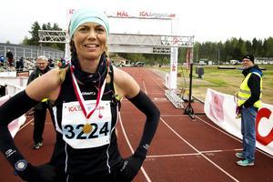 Jenny Rutström, Öbacka Löparklubb, vann damklassen.