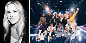 Frisören Sofia Ljusberg fick i år uppdraget att ta hand om förvandlingarna av topp tolv-finalisterna i Idol. Foto: Privat, Annika Berglund/TV4