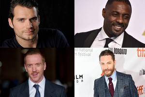 Henry Cavill, Idris Elba, Tom Hardy och Damian Lewis.