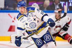 Leksands IF:s back Johan Fransson missar kvällens match mot Oskarshamn. Foto: Bildbyrån.