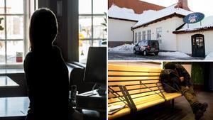 Johanna har sett mycket våld och missbruk under sina år på Sundsvalls centralstation.