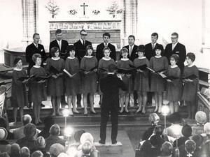 En av de allra tidigare Julton. Sångarstyrkan har vuxit sedan dess. Bild: ST arkiv