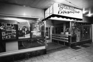 Arkivbild. Entrén på nattklubben, som den såg ut i början. Bilden tagen 19 februari 1992.