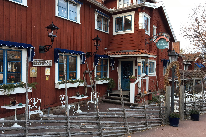 Åkerblads Hotell, Gästgiveri & Spa i Tällberg, Leksands kommun är ett av hotellen på topplistan.