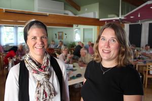 Evenlina Bark Nordin, projektledare och mångfaldsstrateg Maria Högkvist har båda arbetat med projektet.