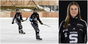 Tova Grönoset, Wilma Uhlin och Hanna Snäll utgör en stor del av SAIK:s framtid. Montage: Erik Illerhag/Mikael Ahlander