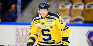 Thom Flodqvist i SSK-tröjan, september 2018. Bild: Jonas Ljungdahl/Bildbyrån.