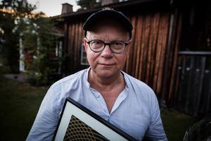Ingela Forsman fanns inte på plats på Guldklaven men det gjorde kompositören Mats Larsson som kunde ta emot ett stipendium på 20 000 kronor.