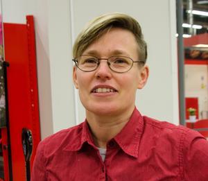 Annelie Karlsson, 49, butiksarbetare, Sundsvall.