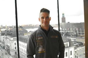 Kim Nilsson är Stockholmare, men har kört för Masarna i många år. Vi träffade honom på hemmaplan under försäsongen.