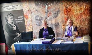 Alfhild Agrell-sällskapet fanns på plats på årets Littfest.