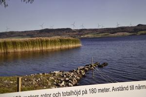 En illustration på hur vindkraften kan komma att se ut.