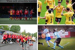 I fjol vann Örebro Syrianska kvalet till svenska cupen, men de finns inte nu med bland de fyra lag som ska göra upp om platsen i turneringen.