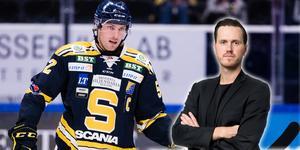 Christopher Liljewall och SSK ser skärrat ut på isen, skriver LT-sportens Jacob Sjölin. Foto: Bildbyrån.
