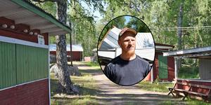 Joel Gustafsson och övriga ansvariga i kulturföreningen hoppas kunna bevara folkparkens kulturhistoriskt intressanta miljöer och komplettera den med en framtidsarena.