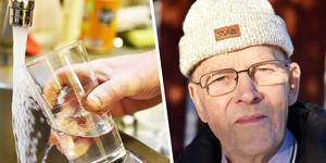 Tore Löfgren är en av de som bor i Klitten och hoppas problemet snart blir löst.
