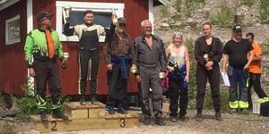 Jessica Persson högst på prispallen i den kombinerade dam/veteranklassen i Vansbro.
