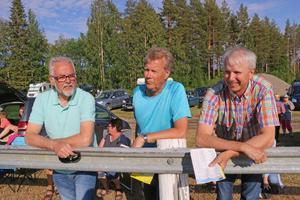 Kusinerna Göran Nordin, Sten Flodin och John-Ivar Nordin har travsporten i blodet. Från Brattbäcken alla tre, men numera utflyttade. Fast Hotingveckan missas inte.