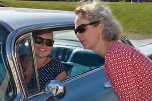 Beatrice Berndtsdotter vann Krantz Challenge för ett par år sedan i Hudiksvall. I år blev hon utslagen i semifinalen av Linda-Marie Andersson som körde sin morbror, Sven Dehlins 1959-års Impala.
