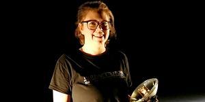 Evelina Mattsson från Gustafs arbetar på Stadsteatern i Stockholm. Foto: Privat