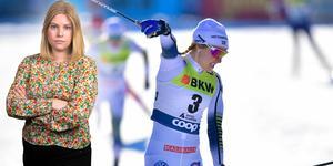 Stina Nilsson efter att ha vunnit i Davos för två veckor sedan. Idag fick hon kliva högst på pallen i Toblach i den inledande distansen i Tour de Ski. Camilla Westin listar fem heta punkter.
